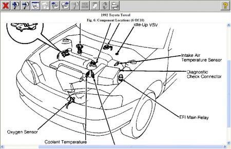 1992 Toyota Tercel Engine Diagram on toyota tercel radio wiring diagram