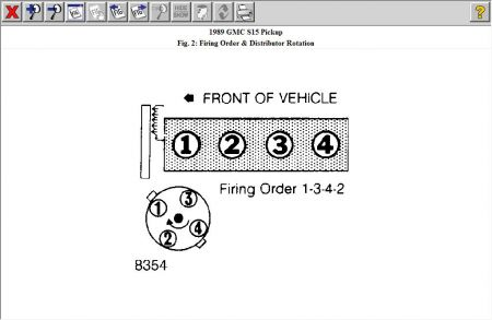 1989 GMC S15 Firing Order: I Know the Firing Order Is 1-3-4