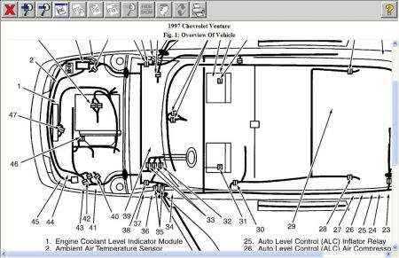 Pcm Location Chevy Astro 2004on Chevy Truck Wiring Diagram
