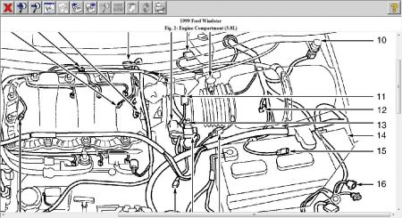 Engine Diagram For A 1994 Ford F150 5 0 moreover T25608967 Need diagram fuel line 2000 pontiac moreover 1976 Chevy Blazer Wiring Diagram Html additionally Battery Powered Motor additionally 1996 Mitsubishi Montero Firing Order Diagram. on ford windstar wiring diagram the best