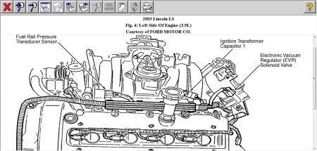 12900_evr_1 2003 lincoln ls where the location is for part egr3001 sole 2002 Lincoln LS V8 Diagram at nearapp.co