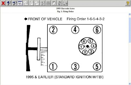 firing order the van is backfiring i was wondering if i have a firing order the van is backfiring i