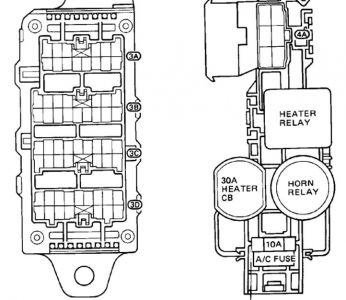 1987 Toyota Camry Fuse Box Diagram - wiring diagram on the net on