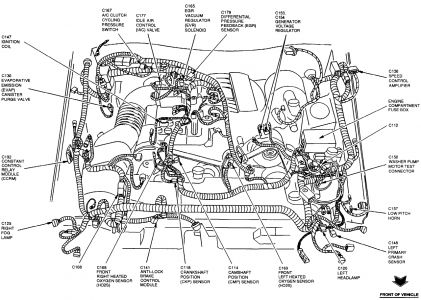 Ford Mustang 1998 Ford Mustang 45 on 02 ford ranger fuse diagram