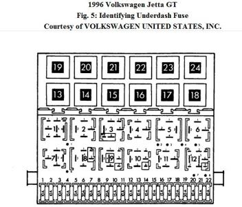 1996 volkswagen jetta relays electrical problem 1996. Black Bedroom Furniture Sets. Home Design Ideas