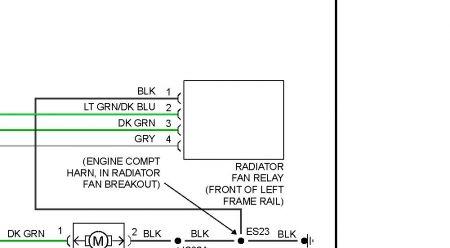 1997 Dodge Caravan Cooling Fan Relay Engine Cooling Problem 1997