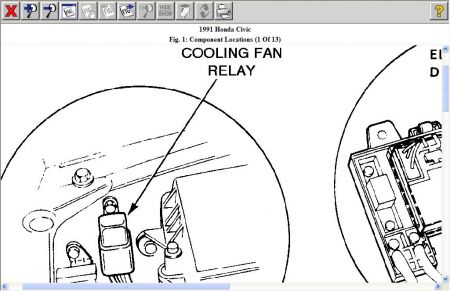 Car Engine Overheating Ac Not Cooling on 1996 honda civic fuse box diagram