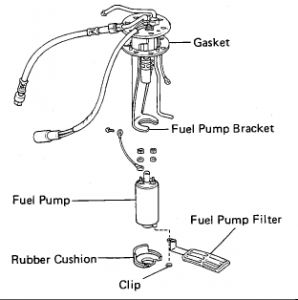 1986 Toyota 4runner Fuel Filter I Have Been Unable To Find The. Fuel Tank Pump And Filter 2carpros Automotive S12900ff15. Toyota. 1986 Toyota 4runner Fuel Rail Diagram At Scoala.co