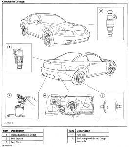 2001 Ford Mustang Fuel Filter Diagram - Wiring Diagram G9