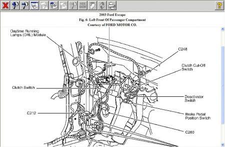 2003 ford escape turn signal flasher electrical problem 2003 ford rh 2carpros com Turn Signal Relay Diagram 3 Wire Turn Signal Diagram