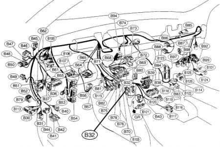 2007 subaru outback cylinder diagram