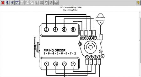 1997 chevy silverado plug wires  engine mechanical problem