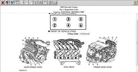 2003 Chevy Venture Spark Plug Wiring Diagram: Engine Mechanical ...