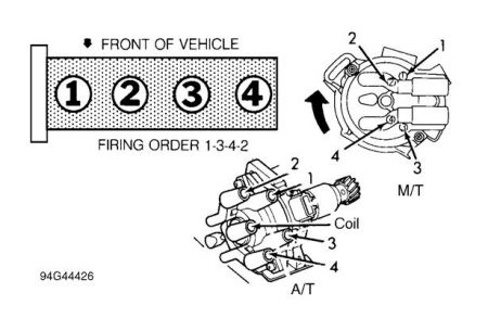 1995 mazda mx6 distributor firing order: need to know the ... mx6 radio wiring diagram mazda mx6 distributor wiring diagram #9