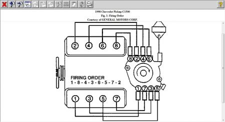 1998 GMC Sierra Wiring Diagram for Firing Orde