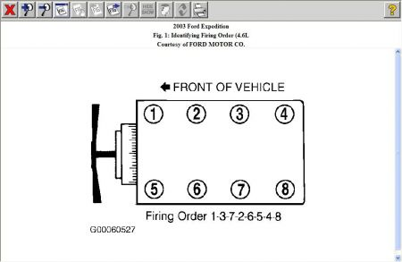 Firing Order V8 Four Wheel Drive Automatic 211 097 Miles