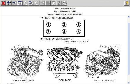 chevy corsica sparkplug wiring diagram electrical problem 1 reply