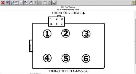 12900_ford_fo_2 firing order engine performance problem front wheel drive 2002 ford windstar spark plug wire diagram at reclaimingppi.co