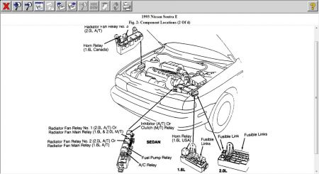 Sentra 1994 Fuel Pump Location on 2005 nissan sentra fuse diagram