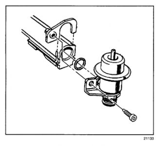 Chevy 3400 Engine Fuel Pressure Regulator Location