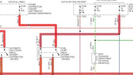 1996 chrysler concorde fuel pump won 39 t engage 96 concorde. Black Bedroom Furniture Sets. Home Design Ideas
