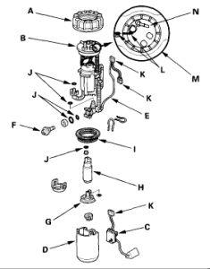 277 Piston Rings Tecumseh 34854 as well Tb120 11a B22j766 2014 11a B22j766 2014 also 2001 Acura Tl Fuel System Diagram Html in addition Honda Crv 2002 Honda Crv 10 besides Density altitude. on fuel filter base
