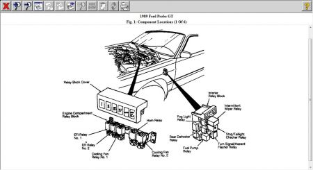 12900_fp_relay_16 1989 ford probe fuel pump relay engine mechanical problem 1989 88 ford f150 fuel pump relay wiring diagram at soozxer.org