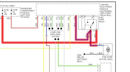 2000 Volvo S80 Fuel Pump Inertia Shutoff Switch – Inertia Switch Wiring Diagram