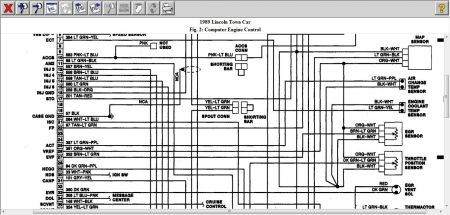 1989 lincoln town car fuel pump relay wiring, Wiring diagram