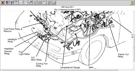 Porsche Turbo Wiring Diagrams additionally 1989 Rx7 Fc Wiring Diagram further Disconnect Battery Cables Disconnect also M35a2 Wiring Diagram moreover 86 Buick Regal Wire Harness Diagram. on mazda rx7 wiring harness