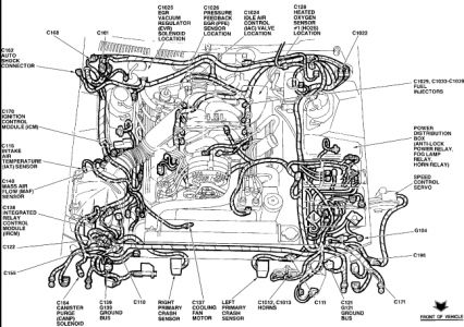 96 Thunderbird Engine Diagram