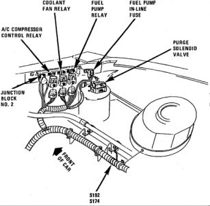 88 Buick Century Fuel Pump Relay Location on 1994 buick century fuse box diagram