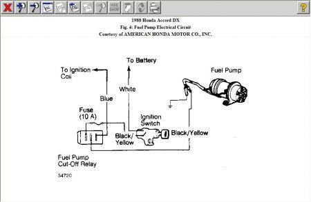 1992 honda accord electrical diagram images 92 honda accord honda accord fuel pump wiring diagram 1994 automotive on 1988
