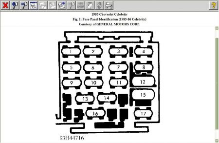 2000 Chevy Cavalier Ignition Wiring Diagram