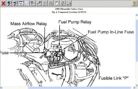 Oldsmobile Fuel Pump Wiring