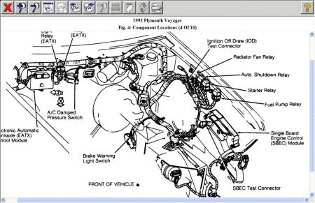 [SCHEMATICS_4ER]  1992 Plymouth Voyager Fuel Pump Wiring Diagrams: There Is No ... | 1992 Plymouth Acclaim Wiring Diagram |  | 2CarPros
