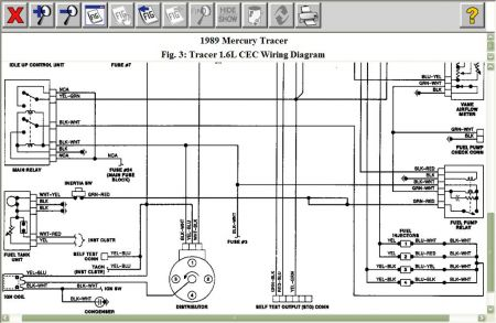 1989 mercury tracer fuel pump electrical problem 1989. Black Bedroom Furniture Sets. Home Design Ideas