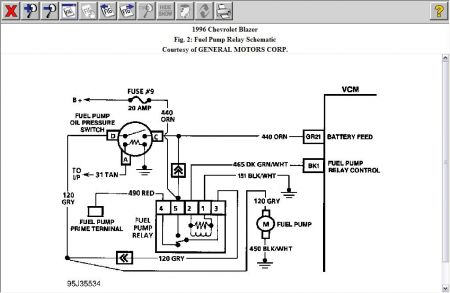 1997 S10 Fuel Pump Wiring Diagram - Wiring Diagram