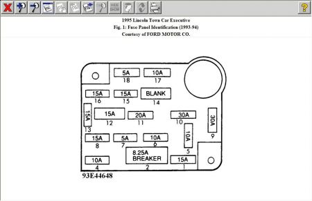 12900_fuse_box_1 1995 lincoln town car fuse box electrical problem 1995 lincoln lincoln fuse box diagram at mifinder.co