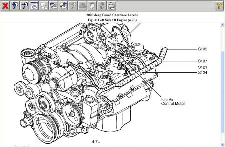 2000 jeep engine diagram wiring diagram schema