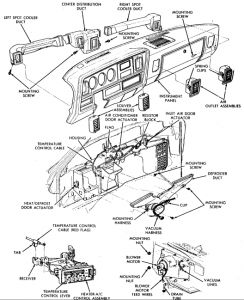 Dodge Ramcharger 1987 Dodge Ramcharger Replace Heater Core on dodge ram wiring diagram