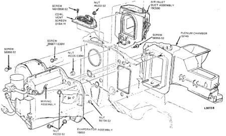 1985 lincoln town car heater core removal heater problem 1985 1999 Expedition Heater Core Diagram 2carpros forum automotive pictures 12900 hc1 2