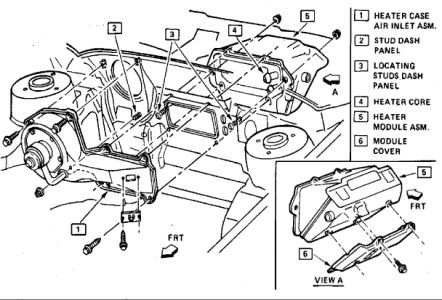 Hvac  pressor Wiring Diagram also RepairGuideContent moreover Chevrolet Cavalier 1986 Chevy Cavalier Heatercore Replacement also P 0996b43f80759e11 together with RepairGuideContent. on silverado a c controls diagram