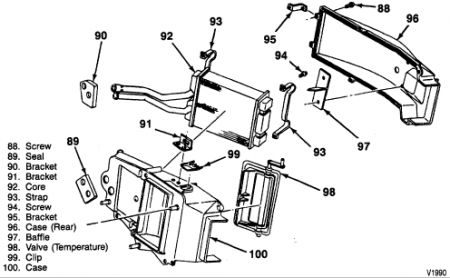T14252049 Water temp sending unit 1993 ford f150 besides 2003 Ford Ranger 2 3 Cooling System Diagram also Gmc Sierra 1993 Gmc Sierra Heater Core Location likewise C15 Block Heater Location together with Ford Escort 1995 Ford Escort 95 Escort Cooling Fan. on ford engine coolant