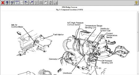 Dodge Grand Caravan Idle Control Valve Location