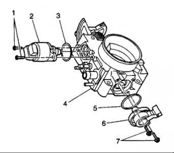 2001 Oldsmobile Alero Idle Air Control Valve Engine Performance