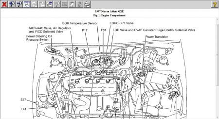 97 altima engine diagram free vehicle wiring diagrams u2022 rh addone tw
