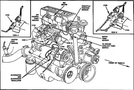 1990 Ford Ranger Engine Diagram