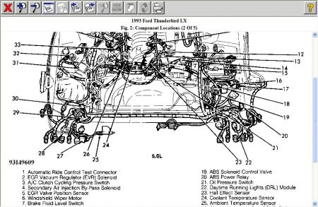 1993 ford thunderbird diagram