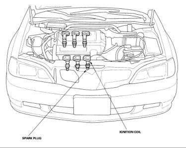 acura tl engine diagram 1999 acura tl ignition coil: where is the ignition coil ... 1999 acura tl engine diagram